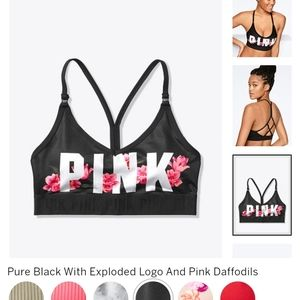 PINK ULTIMATE LIGHTLY LINED SPORTS BRA